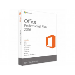 MS Office 2016 Professional - elektronická licencia ESD